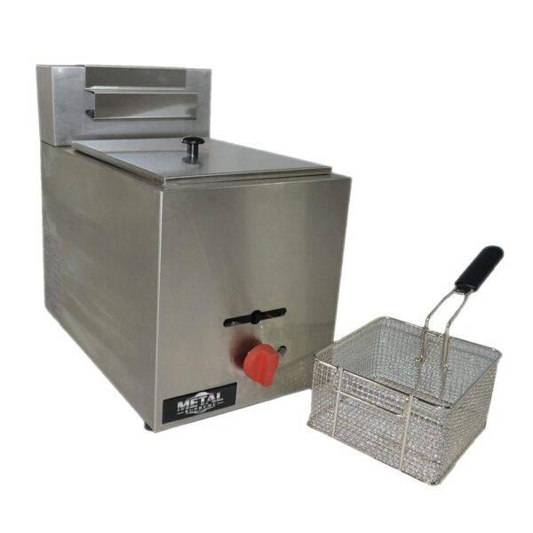 Fryer, Gas, Countertop, Full Pot