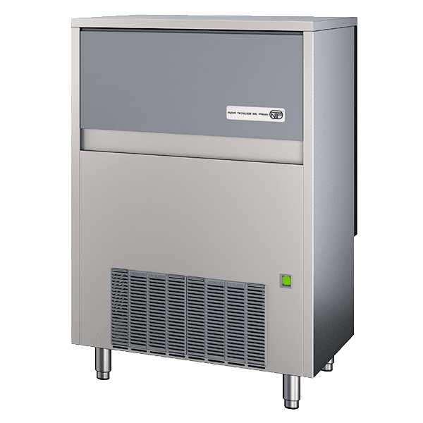 Ice Maker with Bin, Flake-Style
