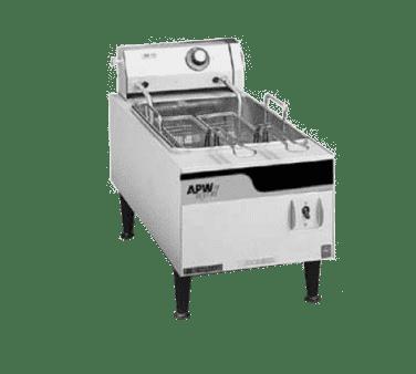 APW Wyott EF-15IN Full Pot Countertop Electric Fryer