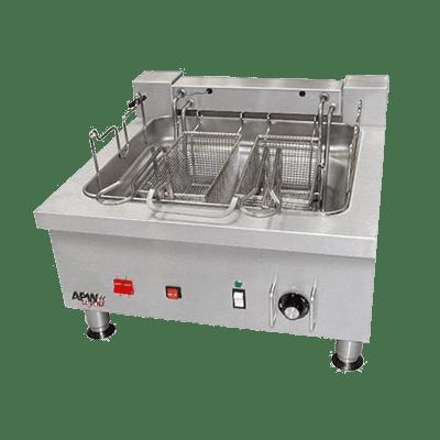 APW Wyott EF-30INT Split Pot Countertop Electric Fryer