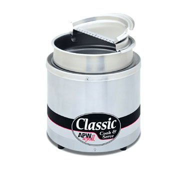 APW Wyott RCW-11SP, Insulated Round Cooker/Server 11 QT, 120V