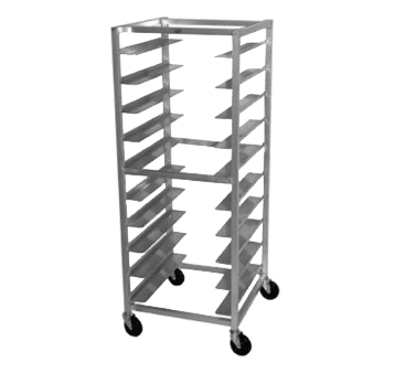 Oval Tray Storage Rack, Mobile