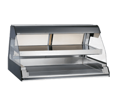 Alto-Shaam ED2-48/2S-BLK Halo Heat® Heated Two-Tier Dis…