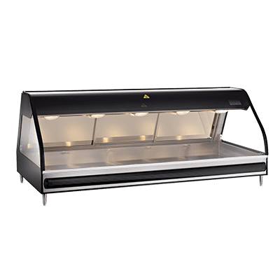 Alto-Shaam ED2-72-BLK Halo Heat® Heated Display Case…
