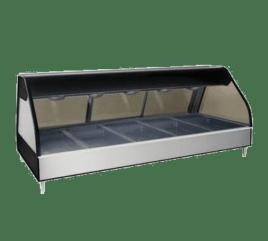 Alto-Shaam ED2-72/P-BLK Halo Heat® Heated Display Case…