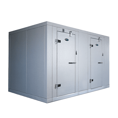 AmeriKooler DW081077F-4/6 Indoor Two (2) Compartment Walk-In Cooler