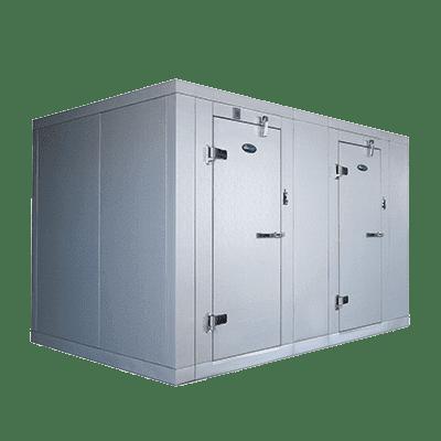 AmeriKooler DW082077F-7/13-RM Indoor Two (2) Compartment Walk-In Cooler