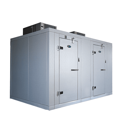 AmeriKooler DW091677F-7/9-SC Indoor Two Compartment Walk-In…