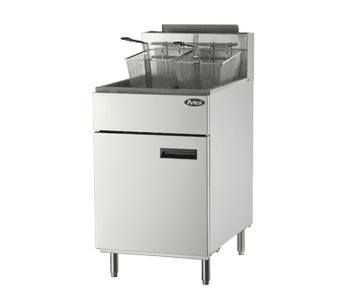 Atosa USA, Inc. ATFS-75, HD 75 LB S/S Deep Fryer