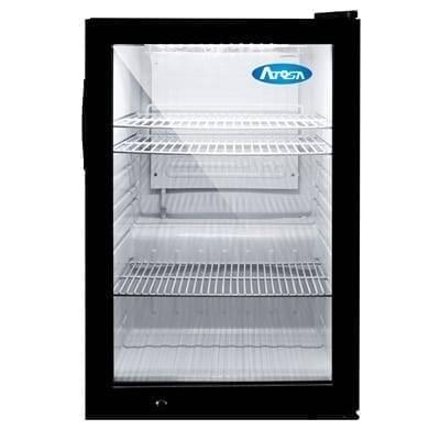 Atosa USA, Inc. CTD-3 Refrigerated 1 Door Glass Countertop Display Merchandiser