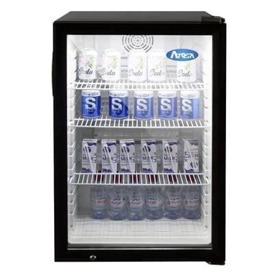 Atosa USA, Inc. CTD-5 Refrigerated 1 Door Glass Countertop Display Merchandiser