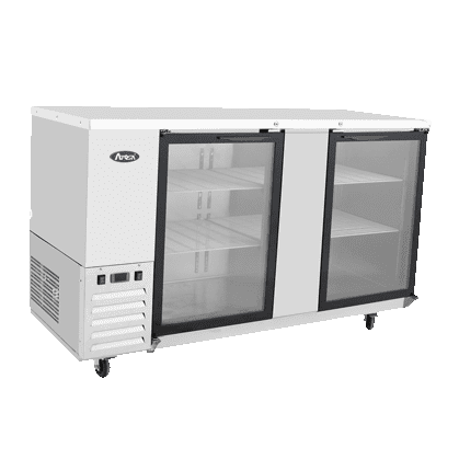 Back Bar Cabinet, Refrigerated