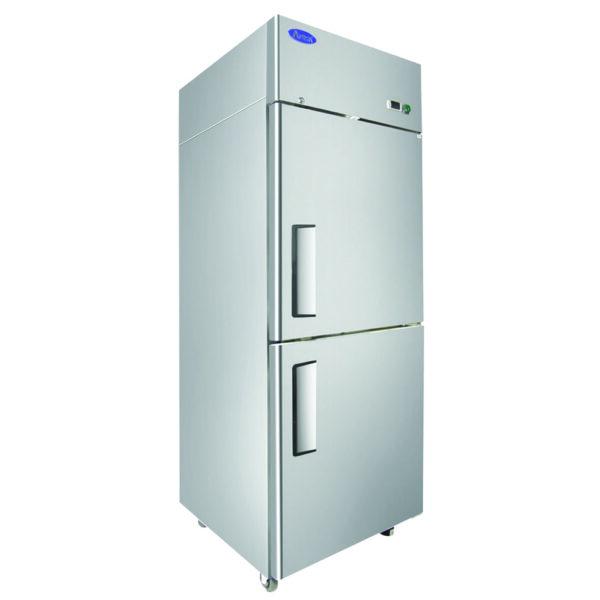 Atosa USA, Inc. MBF8007GR, Top Mount 2 Divided Door Freezer Cooler Right Hinged