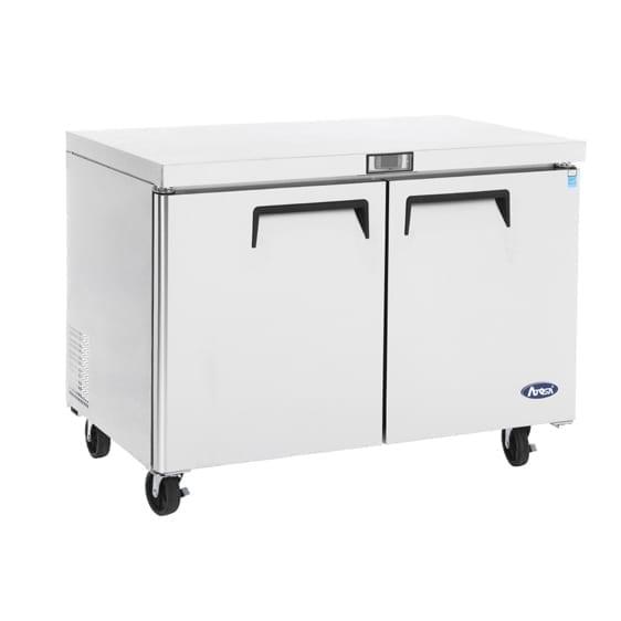 Refrigerator, Undercounter, Reach-In