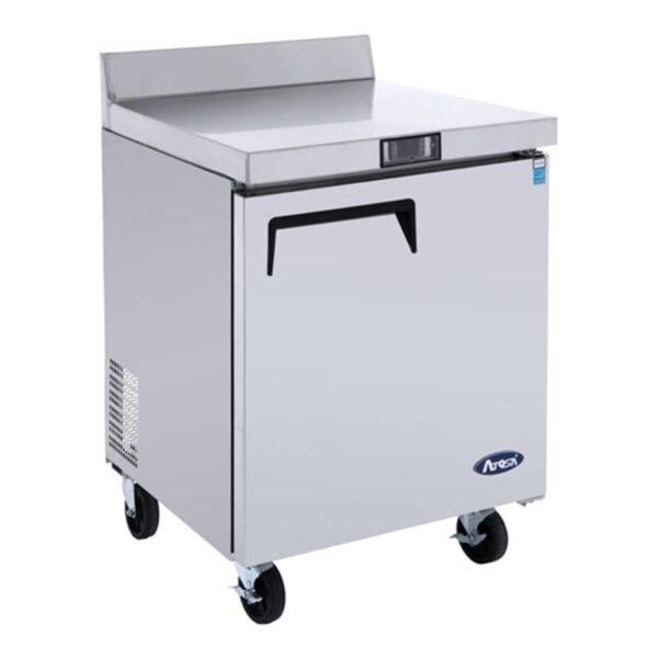 Atosa USA, Inc. MGF8408GR, 27″ Worktop Refrigerator w/ Backsplash