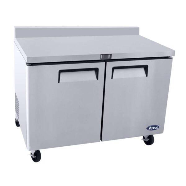 Atosa USA, Inc. MGF8409GR, 48″ Worktop Refrigerator w/ Backsplash