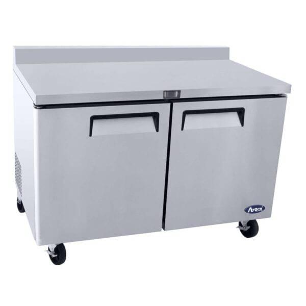 Atosa USA, Inc. MGF8410GR, 60″ Worktop Refrigerator w/ Backsplash