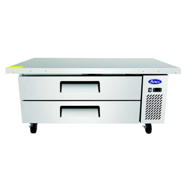 """Atosa USA, Inc. MGF8452GR, 60"""" Extended Top Chef Base with 52"""" Cabinet"""