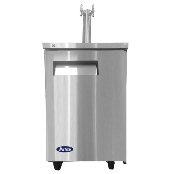 Atosa USA, Inc. MKC23GR, 23″ Keg Cooler – S/S-with 1 Dual Tap Tower