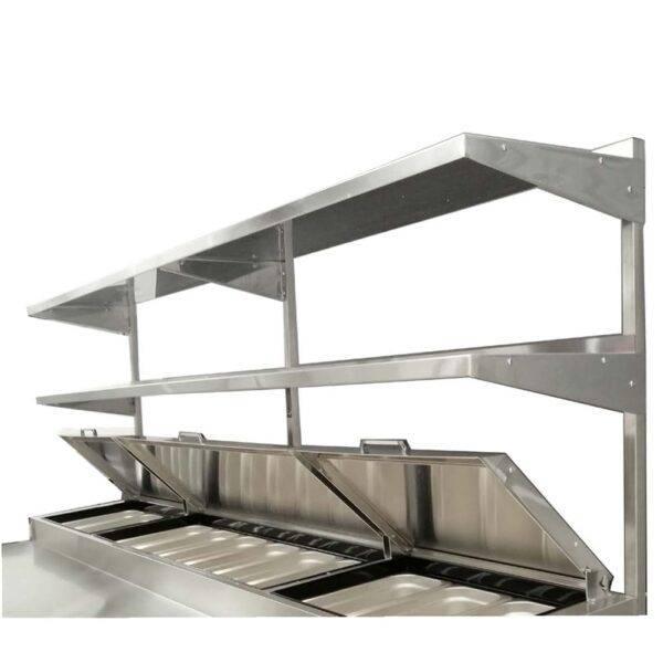 Atosa USA, Inc. MROS-44P, Stainless Steel Over Shelf