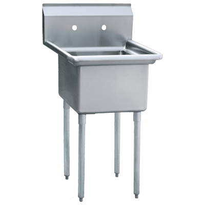 Atosa USA, Inc. MRSA-1-N, Prep Sink