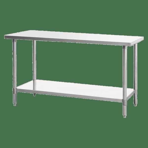 "Atosa USA, Inc. SSTW-2424, Stainless Steel Work Table & Leg Dimension: 24""*24""*34"""
