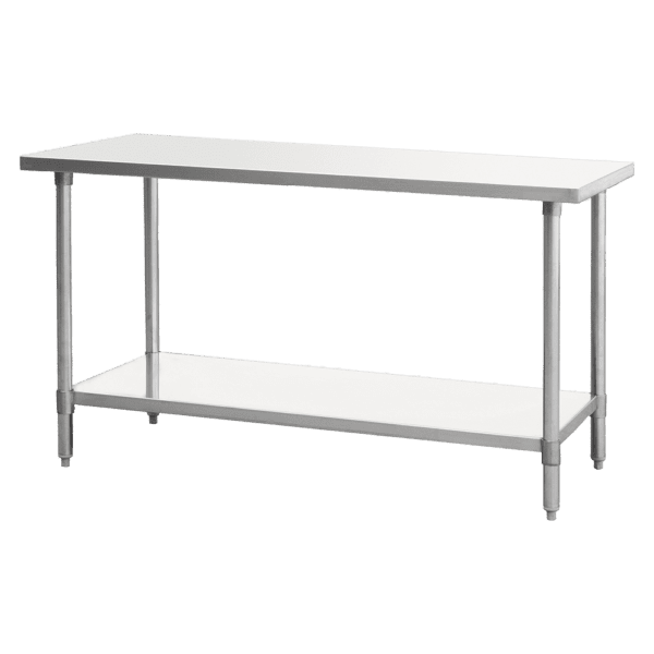 "Atosa USA, Inc. SSTW-2472, Stainless Steel Work Table & Leg Dimension: 72""*24""*34"""