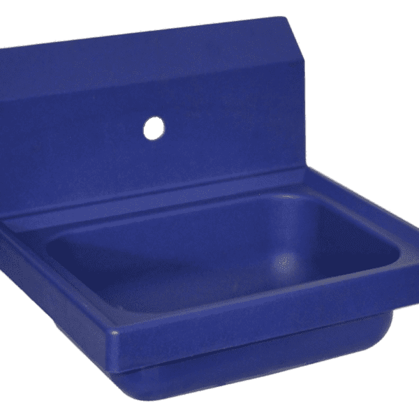 BK Resources APHS-W1410-1B Antimicrobial Hand Sink, 14″ w…