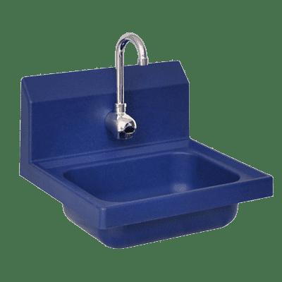 BK Resources APHS-W1410-1BSEF Antimicrobial Hand Sink, 14″ w…