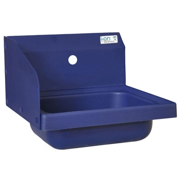 BK Resources APHS-W1410-1LSB Antimicrobial Hand Sink with L…