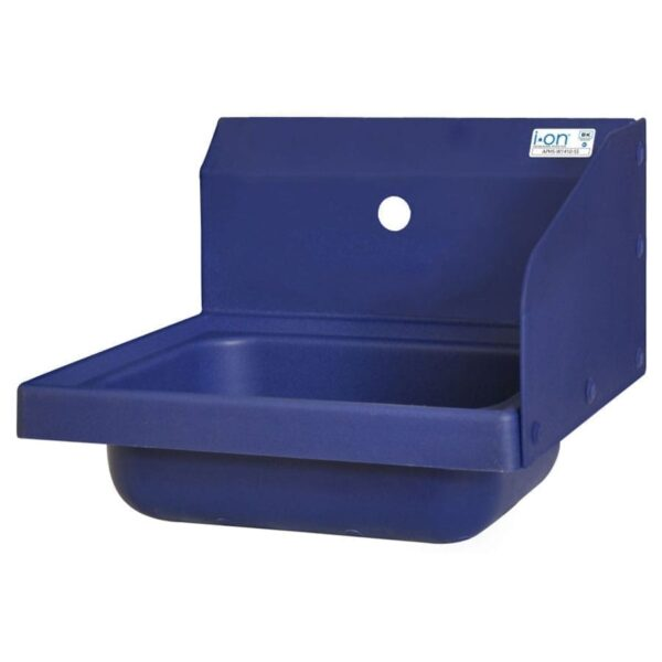 BK Resources APHS-W1410-1RSB Antimicrobial Hand Sink with R…
