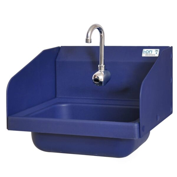 BK Resources APHS-W1410-1SSEFB Antimicrobial Hand Sink with (…