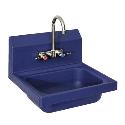 BK Resources APHS-W1410-BE Antimicrobial Hand Sink