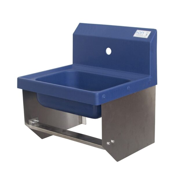 BK Resources APHS-W1410-BKK Antimicrobial Hand Sink with K…