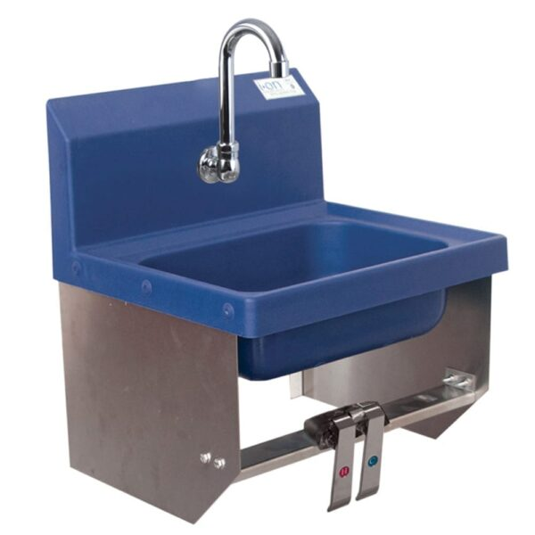BK Resources APHS-W1410-SSBKKPG Antimicrobial Hand Sink