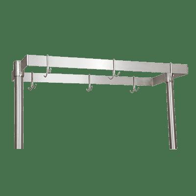 BK Resources APQ-72 Pot Rack, table mount, 72″W x …