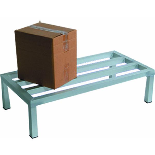BK Resources BK-ADR-6020-12 Dunnage Rack, 1-tier, 60″W x 2…