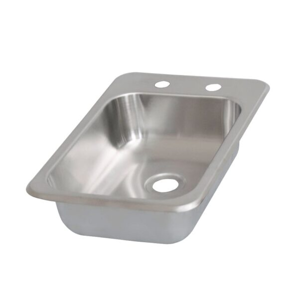 BK Resources BK-DIS-1014-5D Drop-In Sink, one compartment,…
