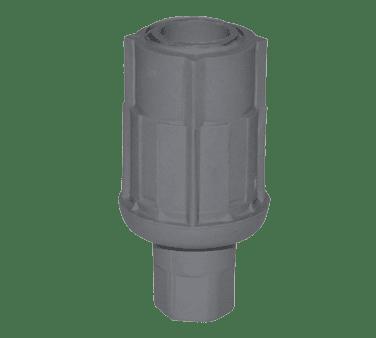 BK Resources BK-PLAF Bullet Foot, plastic, fits 1-5…