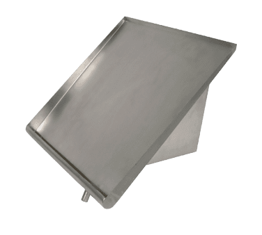 BK Resources BK-SSH-42 Slant Rack Shelf, wall mount