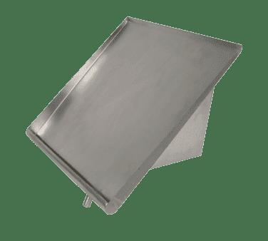 BK Resources BK-SSH-63 Slant Rack Shelf, wall mount