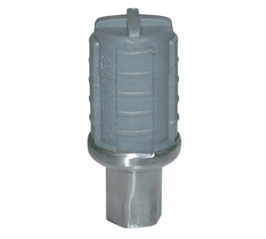 BK Resources BK-SSPAF Bullet Foot, stainless over pl…