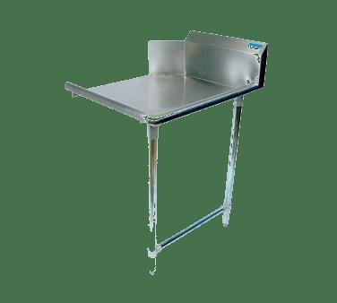 BK Resources BKCDT-60-R Clean Dishtable, straight design