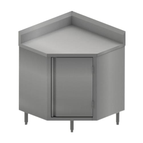 BK Resources BKDCR5C-3030HL Corner Work Table, 30″W x 30″D…