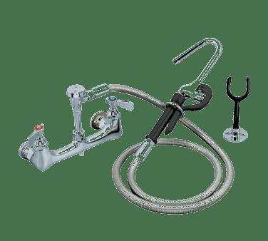 BK Resources BKF-8SMPF-G OptiFlow™ Pot Filler, splash-m…
