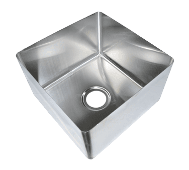 BK Resources BKFB-1616-10-16 Weld-In Sink, one compartment