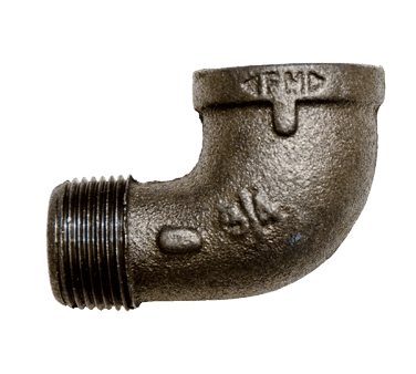BK Resources BKG-90E50 Hose Fitting, 1/2″, 90° male-t…