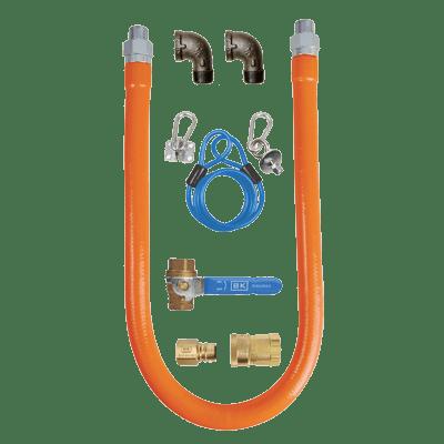 BK Resources BKG-GHC-5060-SCK3 Gas Hose Connection Kit # 3, i…