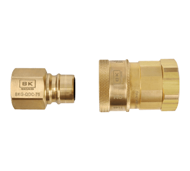BK Resources BKG-QDC-100 Gas Quick Disconnect, 1″ FPT, …