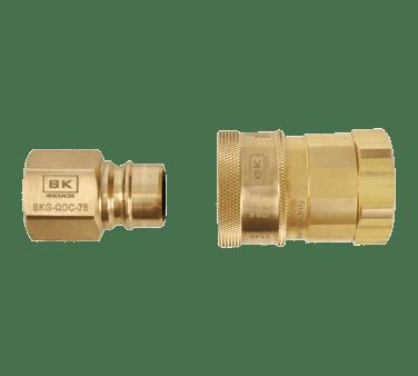 BK Resources BKG-QDC-75 Gas Quick Disconnect, 3/4″ FPT…